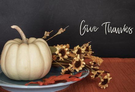 Forty Days of Thanksgiving