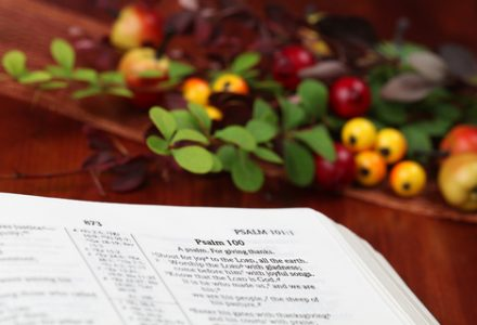 Family Thanksgiving Eve Service