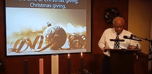 December 13 Sunday Service