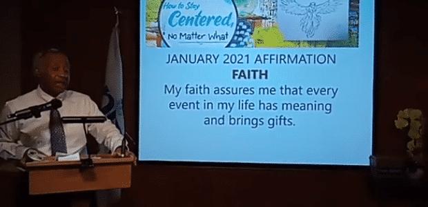 January 24 Sunday Service